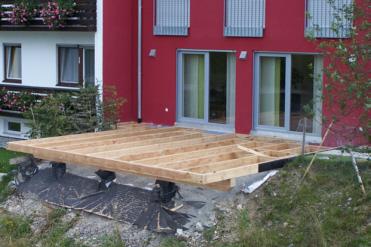 terrassen aussenlagen zimmerei treppenbau thomas jenn. Black Bedroom Furniture Sets. Home Design Ideas